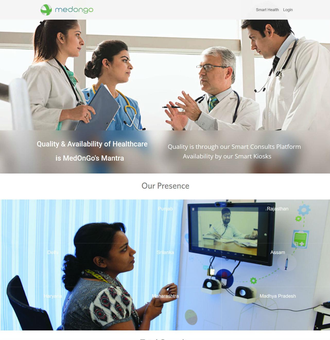 MedOnGo – Smart Health Platform