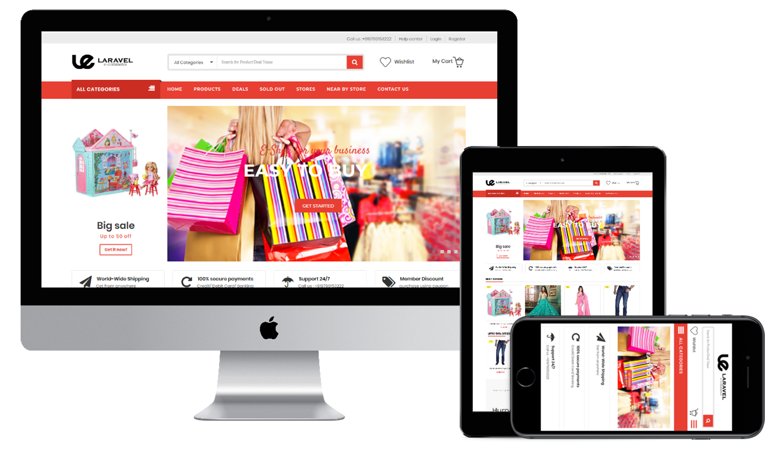 ecommerce website and digital marketing mobile app development web development company in India Uk Dubai