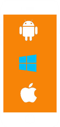 Windows Android and iOS development company flutter-banner